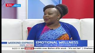 Emotional wellness: Talking trauma caused by rape ordeals