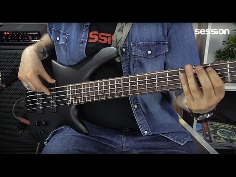 Ibanez SR305EB-WK Soundgear 5-Saiter Bass-Review Von Session