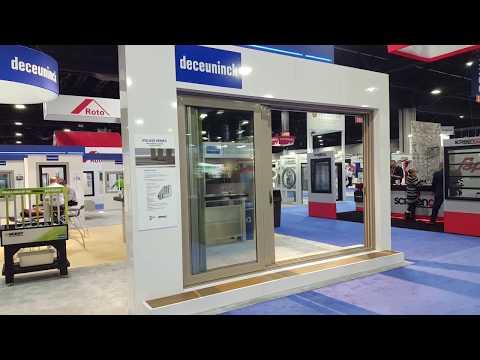 Automatic Three Panel Sliding Patio Door