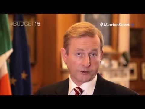 Taoiseach Enda Kenny on #budget15