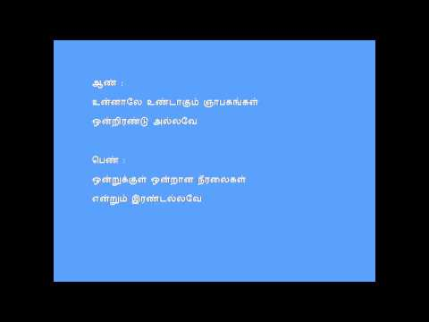 Sorgathin Vasarpadi Lyrics Karaoke For Male By Hamsa Rishi