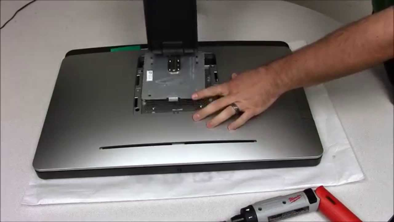 Dell Optiplex 9020 Aio Remove The Hard Drive Youtube