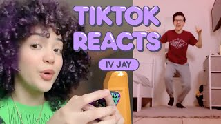 IV Jay Reacts to the Craziest TikToks Using Her Songs | Tik Tok Reacts