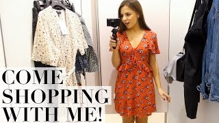 COME SHOPPING WITH ME! Huge Try On Haul! ZARA, Topshop, & Other Stories