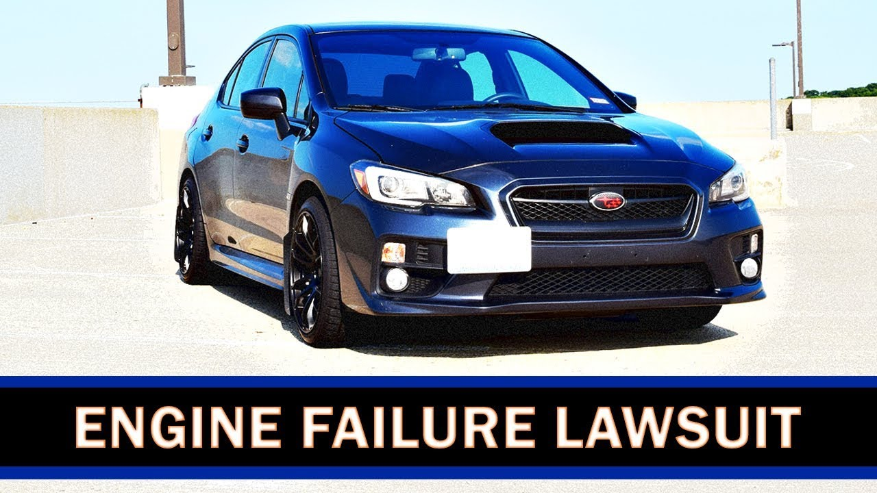Subaru WRX & STI Engine FAILURE Lawsuit    Subaru Settles! PART 1 | WRX  VLOG 43