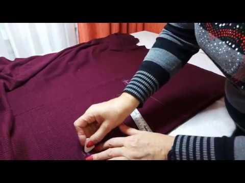 Сшить трикотажную кофту своими руками сшить без выкройки