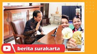 Senangnya Presiden Jokowi Usai Greysia Polii dan Apriyani Raih Medali Emas Olimpiade Tokyo