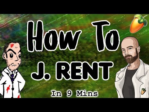 From Scratch: A J. Rent Song In 9 Minutes | 50K Subscriber Special FL Studio Trap Tutorial 2018