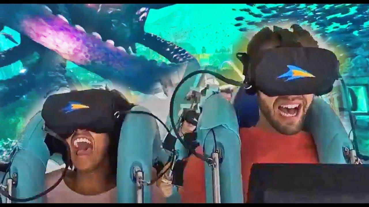 Download NEW Kraken Unleashed VR roller coaster at SeaWorld Orlando