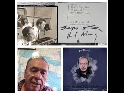 Geoff emerick Sound engineer from the Beatles