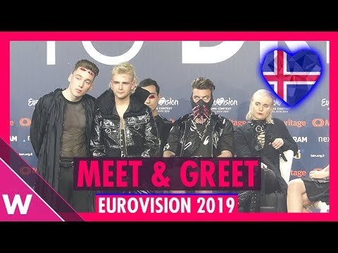 "Iceland Press Conference: Hatari ""Hatrið mun sigra"" @ Eurovision 2019 