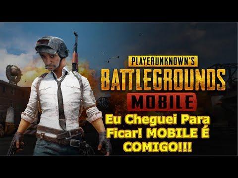 PUBG MOBILE: AGORA É OFICIAL! Cheguei PRA FICAR MOBILE É COM O ZIGÃO!!! Omega Play