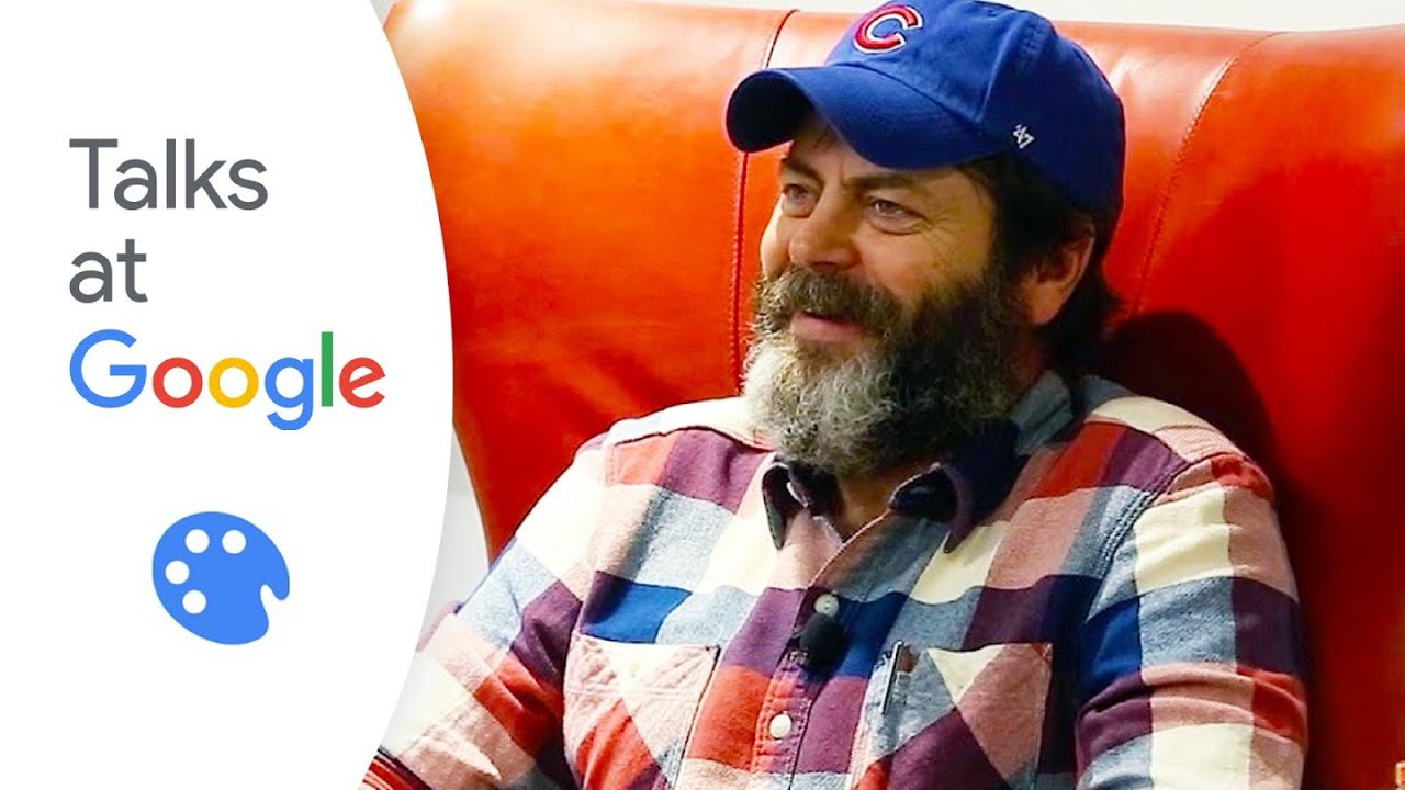 Nick Offerman Paddle Your Own Canoe  Talks at Google