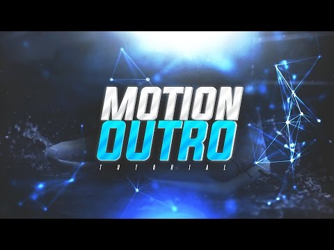 How To Make A Motion/Moving Outro For YouTube Videos FOR FREE! (2017)