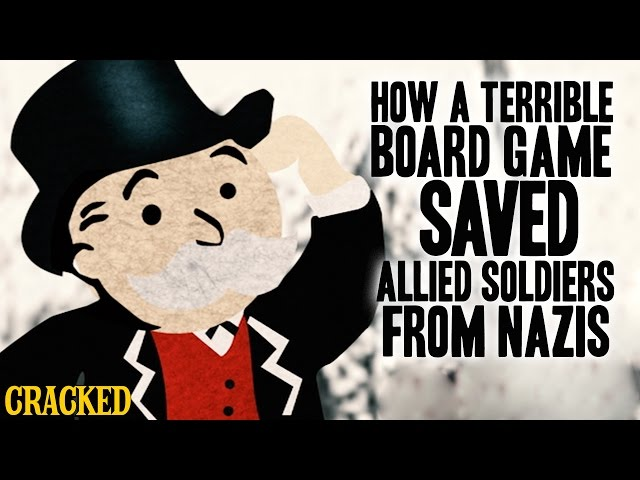 How A Terrible Board Game Saved Allied Soldiers From Nazis