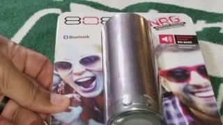 808 CANZ Bluetooth Wireless Speaker