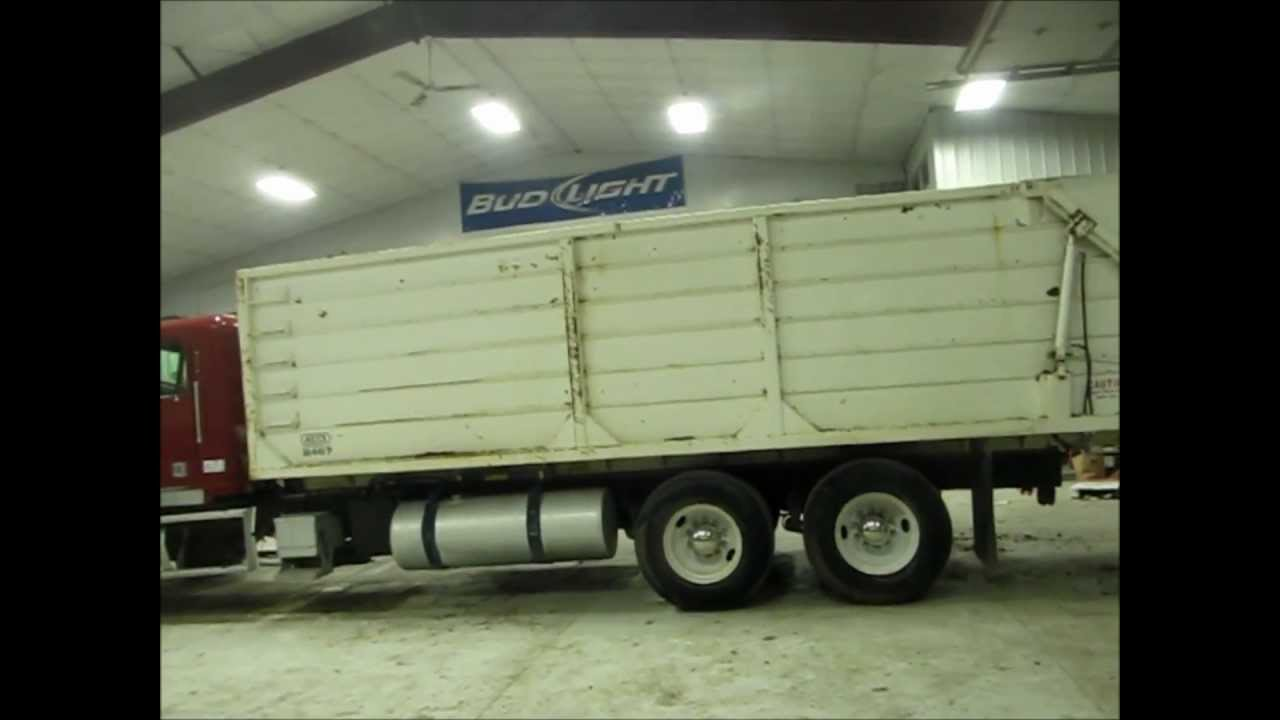 Freightliner Trucks For Sale >> 1993 Freightliner FLD120 silage truck for sale | sold at auction March 27, 2013 - YouTube
