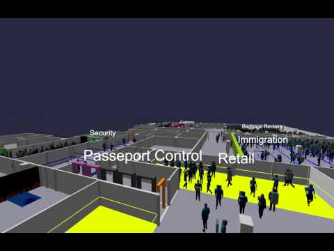 Review of Owen Roberts International Airport Master Plan - Current terminal CAST simulation