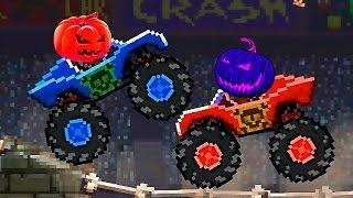 Drive AHEAD #2 Веселое видео для детей, мультик про машинки основная задача игры разбить голову!!!