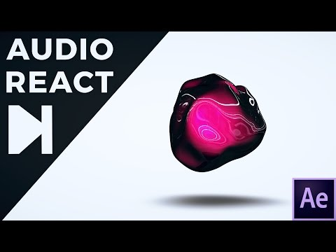 After Effects Tutorial - 3D Audio React 2.0