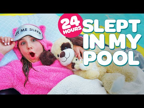 24 Hours Overnight In Our Trampoline Challenge Funnydog Tv