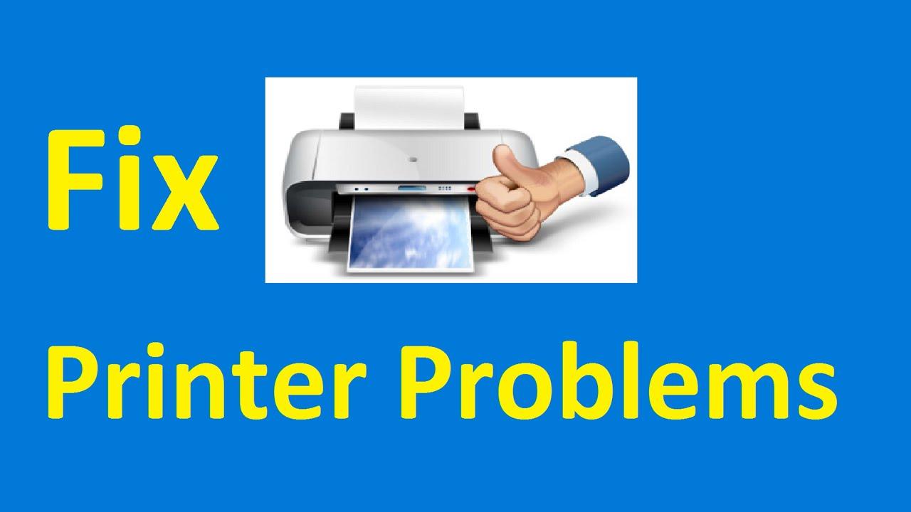 Windows 10 Printer Problems Fix Howtosolveit Youtube