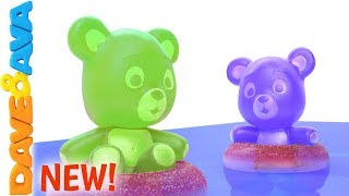 Download 😍 Five Little Gummy Bears | Learn to Count to Five with Dave and Ava 😍 Mp3 and Videos