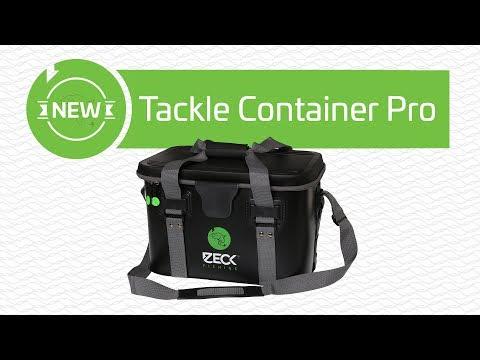 Tackletasche zum Wallerangeln Zeck Tackle Container Pro L Angeltasche für Wels