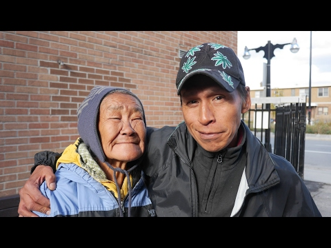 Annie and Matto are homeless in Ottawa. They are proud to Inuit speak their native language.