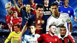 افضل مهارات كرة القدم علي مستوي العالم ميسي و رونالدو 2016