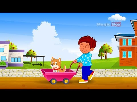 To Market - English Nursery Rhymes - Cartoon And Animated Rhymes