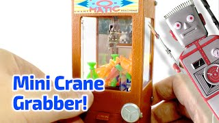 1997 Prize-o-Matic Crane Machine Working Miniature by Basic Fun
