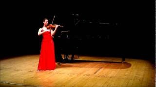 Lea Birringer - Skrjabin Etude in Thirds LIVE