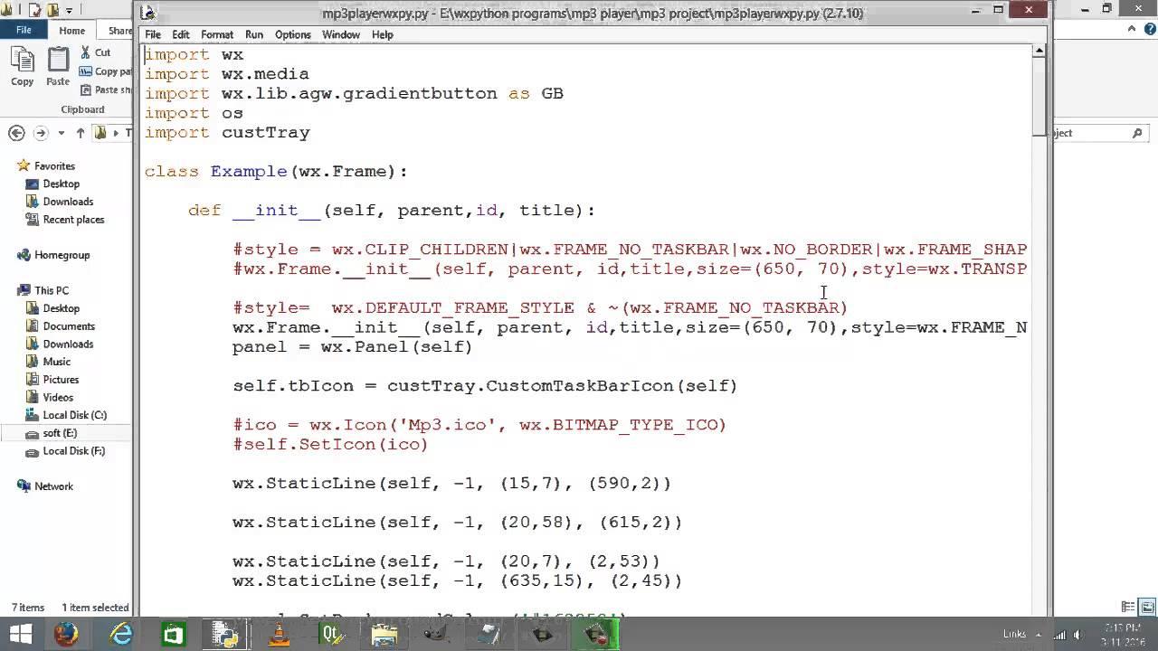 Python mp3 player