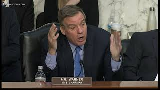 The intelligence committee presented national security threats in a senate hearing