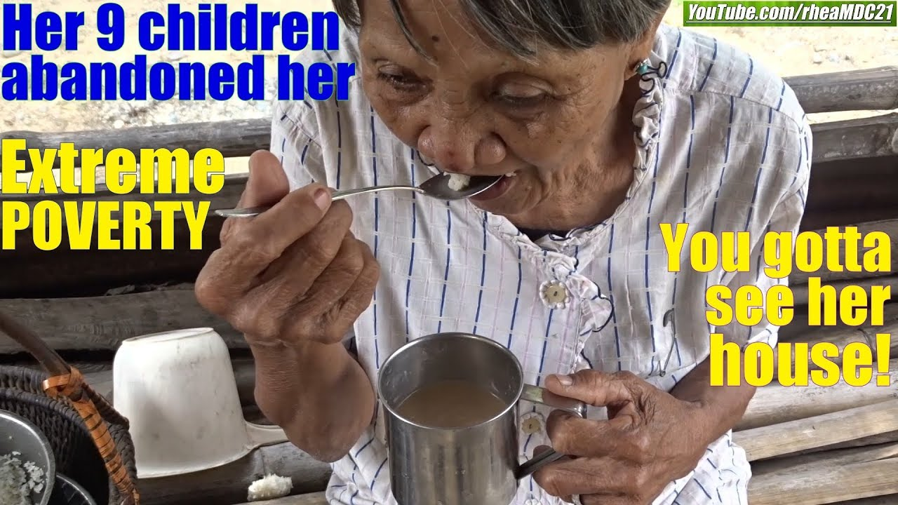 Travel to the Philippines and Meet the Grandmother Who Are Abandoned by Her 9 Children