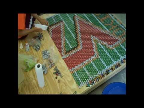 Virginia Tech Beer Cap Table Time-Lapse
