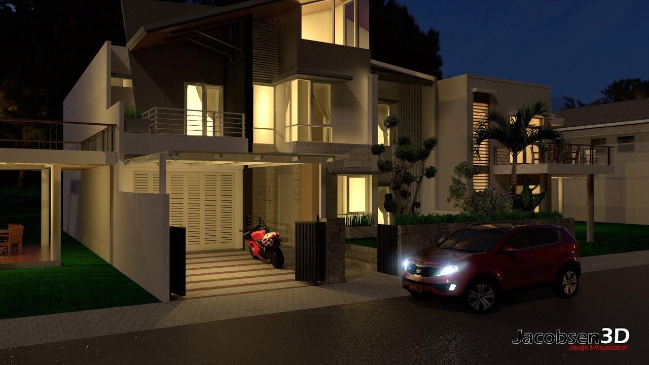 Iluminacion de exteriores con vray