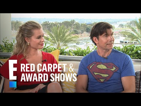 Jerry O'Connell & Rebecca Romijn's New Movie Made Their Kids Cry  E! Live from the Red Carpet