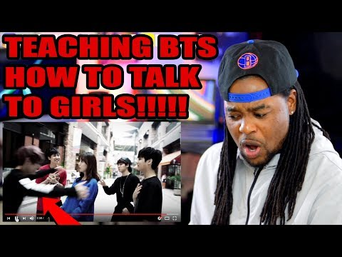BTS | Beautiful MV | TEACHING THEM HOW TO TALK TO GIRLS!!! | REACTION!!!