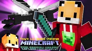 ENDER DRAGON FIGHT - Minecraft 1.11 Exploration Update Challenge [16]