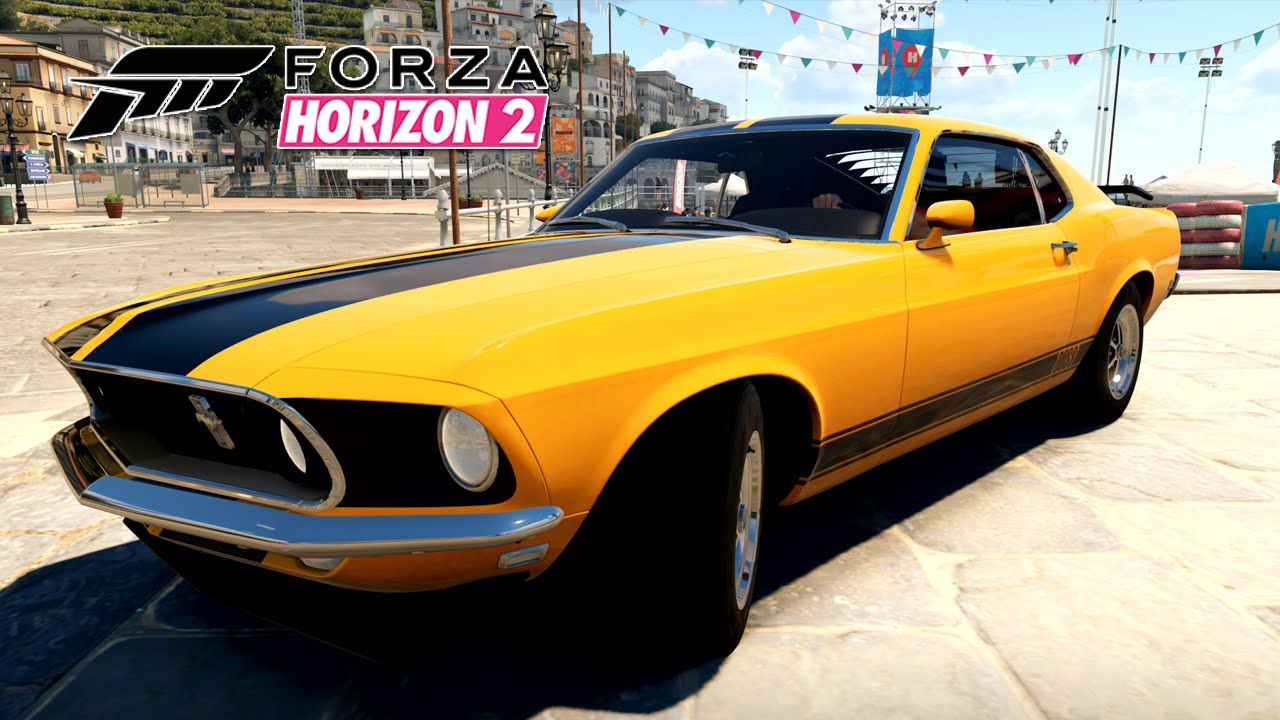 Forza Horizon Ford Mustang Boss Xbox One Pt