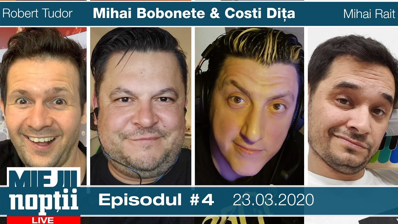 Miejii Noptii - episod #4  - invitati: Magicianul Robert Tudor si Mihai Rait