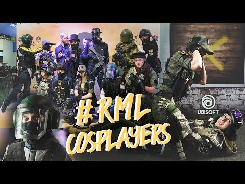 RML - Rainbow Six Siege Cosplayers -