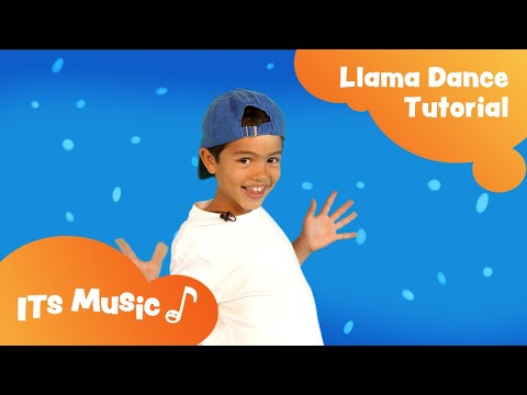 Llama Song | Dance Tutorial | ITS Music Kids Songs thumbnail