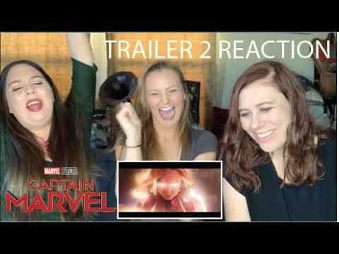 Captain Marvel Trailer 2 (Marvel Studios) REACTION!