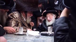 Visnitz Rebbe Visits The Skulen Rebbe - Kislev 5778