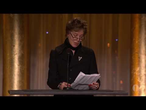 Costume Designers Milena Canonero and Ann Roth honor Piero Tosi at the 2013 Governors Awards