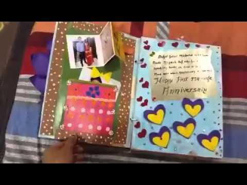 Anniversary card youtube