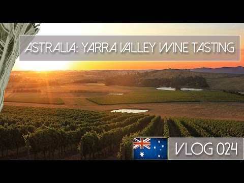 AUSTRALIA, YARRA VALLEY, MELBOURNE - WINE TASTING AND FLYING DRONES - VLOG 024